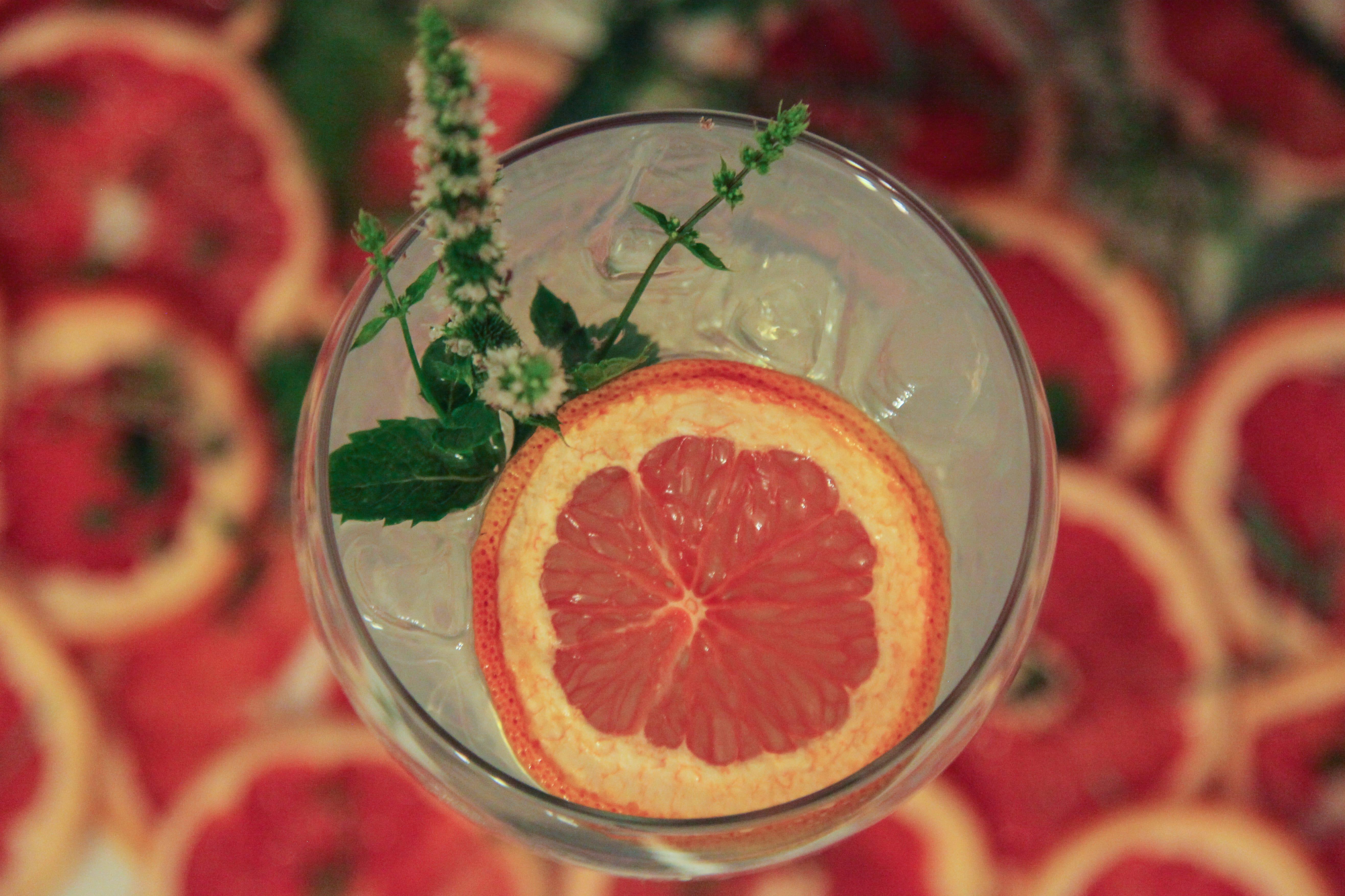 Pickles gin grapefruit garnish 2 min